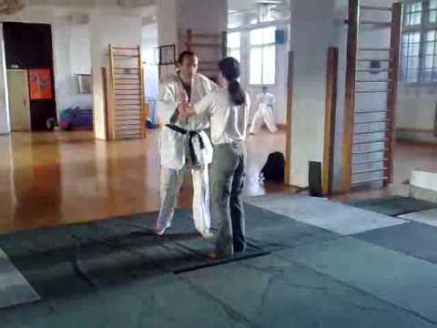 Ryokatatori Kokyu nage