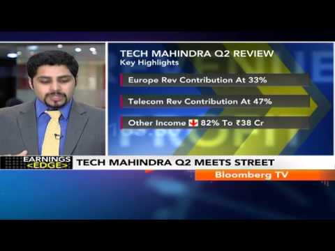 Earnings Edge- Tech Mahindra Q2 Net Profit At Rs.718 Cr