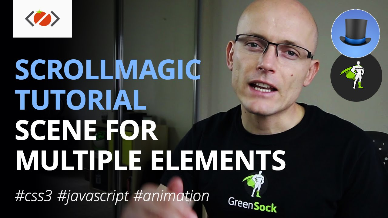 How to trigger ScrollMagic Scene for multiple elements