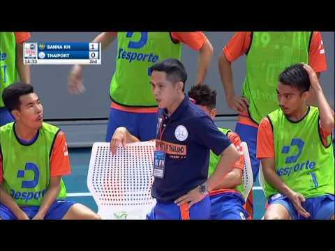Highlight AFF Futsal Club 2015 : 26 NOV 2015 : Thai Port(THA) 1-1 Sanna Khanh Hoa(VIE)