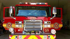 Walk around of station 58 Jacksonville fire rescue