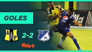 Alianza Petrolera vs. Millonarios (2-2) | Copa BetPlay Dimayor - Octavos de Final