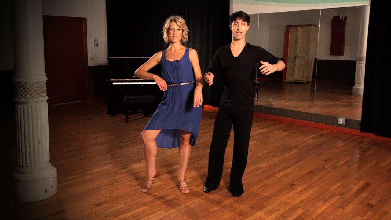 How To Do A Rumba Box Step Ballroom Dance Youtube