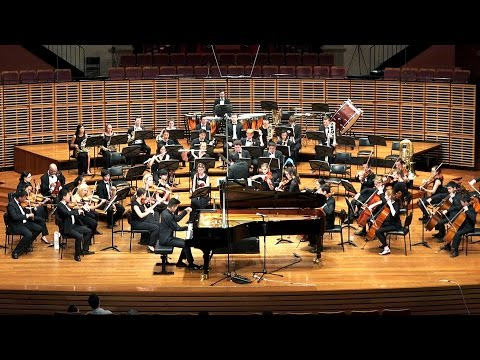 Tchaikovsky Piano Concerto Movt 1 - David Fung with NSW Yout