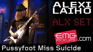 Alexi Laiho plays Pussyfoot Miss Suicide on EMGtv!