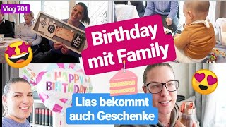 Mein Geburtstag mit Family feiern & Geschenke l Tee Favoriten l Vlog 701