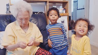 REUNITED WITH OUR KOREAN GREAT GRANDMOTHER! 증조 할머니 방문!