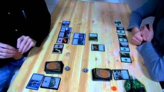 Учебная партия в Magic: the gathering