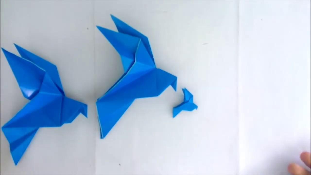 Origami Dove Made Easy - YouTube - photo#23