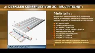 Multytecho Panel Aislado Ternium Detalles Constructivos