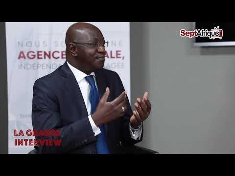 La Grande Interview reçoit M. Ibrahima Diouf, Directeur Général du Bureau de  Mise à Niveau.