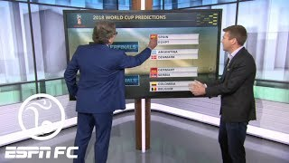 Paul Mariner gives his predictions for 2018 World Cup: Brazil and Germany to miss final | ESPN FC