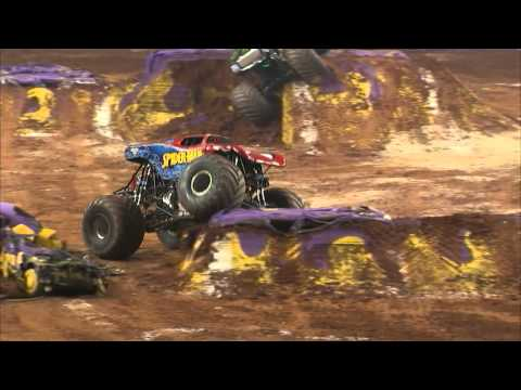 Monster Jam in Georgia Dome - Atlanta, GA 2014 - Full Show - Episode 3