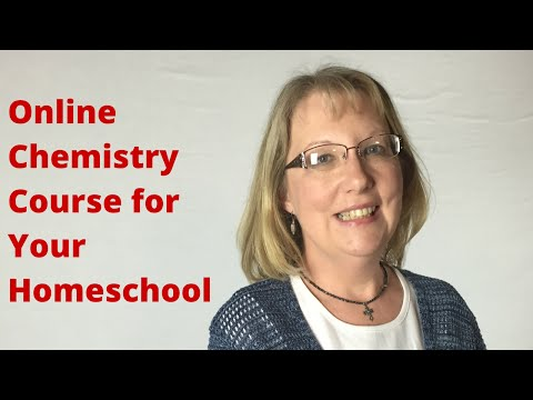 Chemistry Online Classes: Homeschool Connections