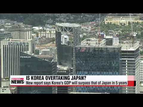 Korea′s GDP to overtake that of Japan in 5 years: LG Economic Research Institute