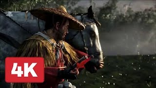 Ghost of Tsushima Mongol Invasion Gameplay Trailer (4K) - E3 2018