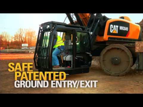 Cat® MH3049 Material Handlers - Operator Station