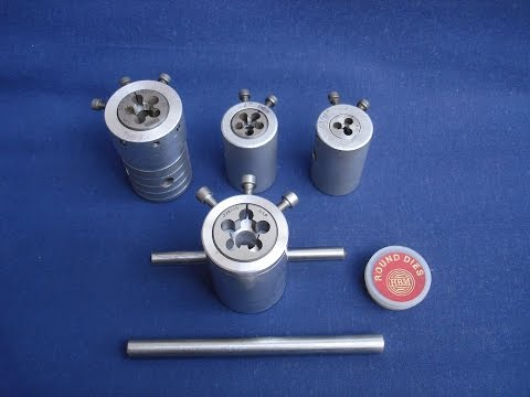 Easy To Make Quality Machine Die Holders For Use On Lathe And Bench