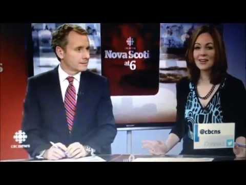Olivia on CBC TV