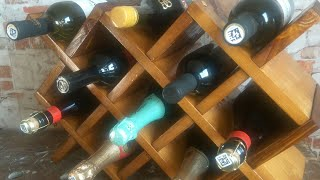полка для вина своими руками. Мини бар. Minibar. DIY