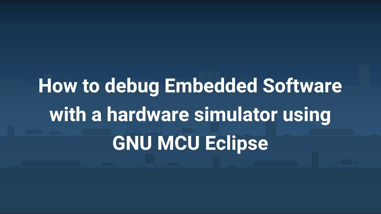 GNU MCU Eclipse and the Jumper Virtual Lab Demo