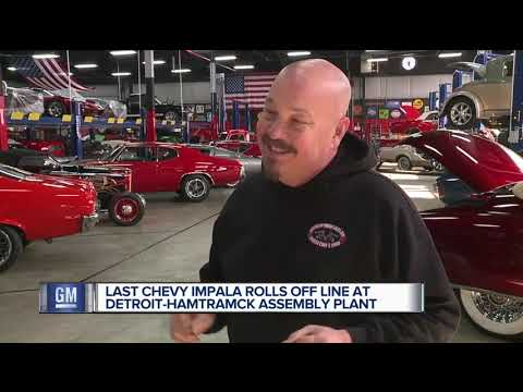 Last Chevy Impala comes off line at Detroit-Hamtramck plant