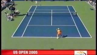 Mary Pierce vs Elena Dementieva US Open Semi-final 2005