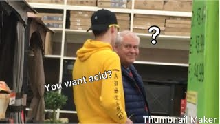 Asking People if they want intense drugs|MGB pranks