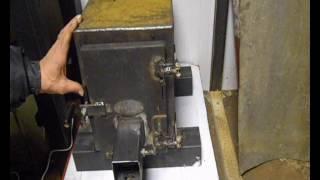 Отопление мастерской. Печь длительного горения своими руками.