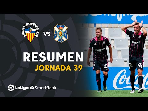 Sabadell CE Tenerife Goals And Highlights