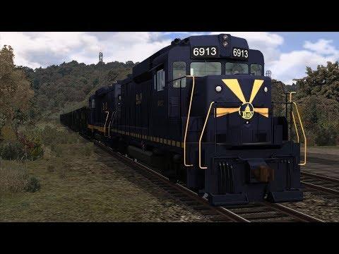 Train Simulator 2018: B&O Kingwood Branch - B&O GP30 - B&O Viking Coal Call [GWD370]