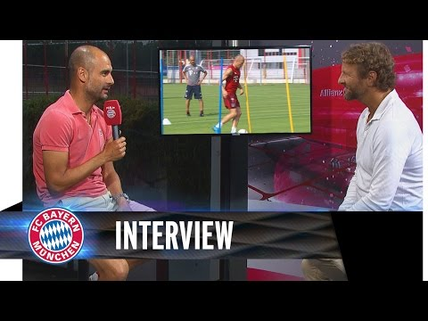 Pep Guardiola im Interview