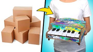 How to Build Amazing Toy Piano 🎹