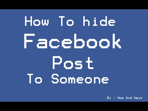 How to hide comments from non friends on facebook