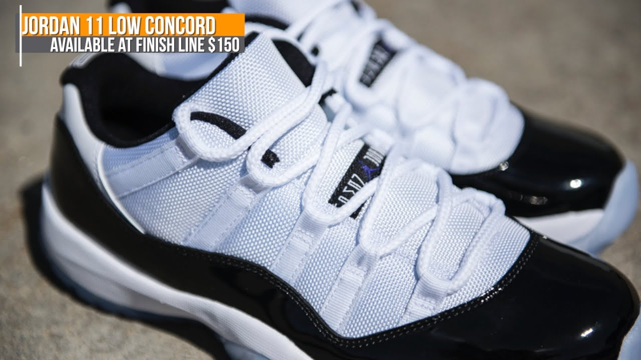 Jordan 11 Low Concord, Multi-Color Free