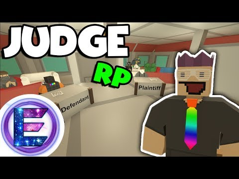 Judge RP - Court - Real Cases , Real people , Judge Elite - Unturned RP ( Funny Moments )