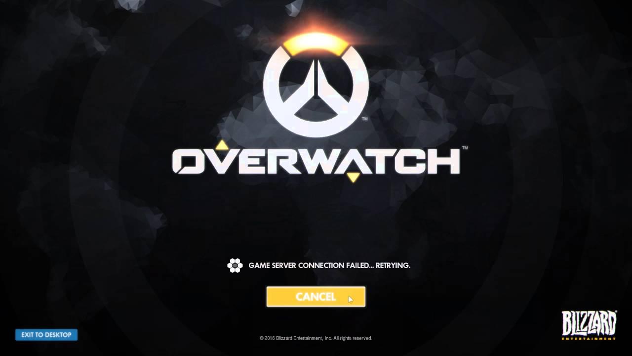 Overwatch соединение сервером потеряно
