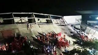 Четыре человека скончались под завалами отеля в Китае. Они были на карантине