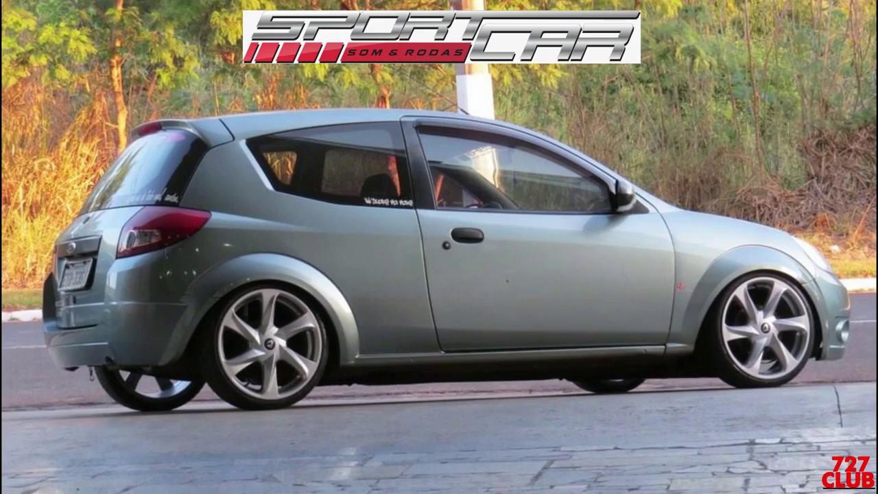 Ford Ka Suspensao Rosca Rodas Santorini 727club Youtube