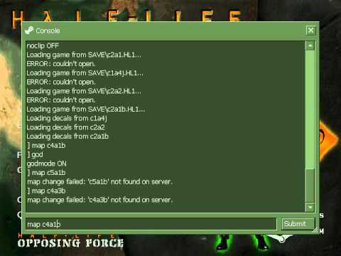Half life Opposing Force weapons In Half Life 1