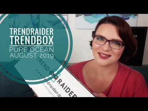 TrendRaider Trendbox Pure Ocean | Unboxing August 2019 | 145 EUR Gesamtwert!