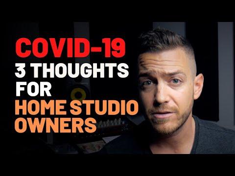 Coronavirus: 3 Thoughts For Home Studio Owners – RecordingRevolution.com