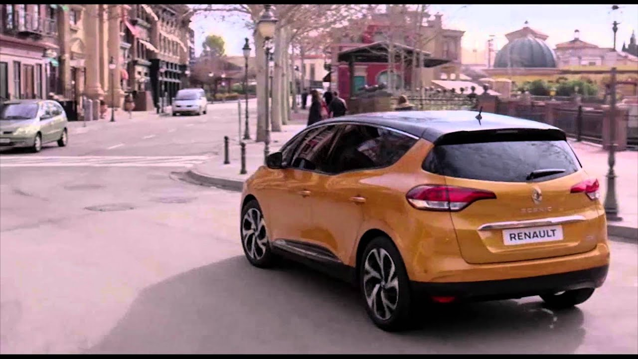 2016 new renault scenic driving video automototv youtube. Black Bedroom Furniture Sets. Home Design Ideas