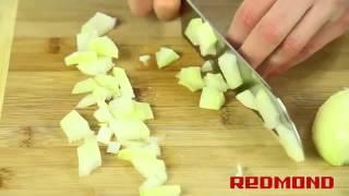 Мультиварка REDMOND RMC M4504 рецепт суп гороховый   Multicooking REDMOND M 4504