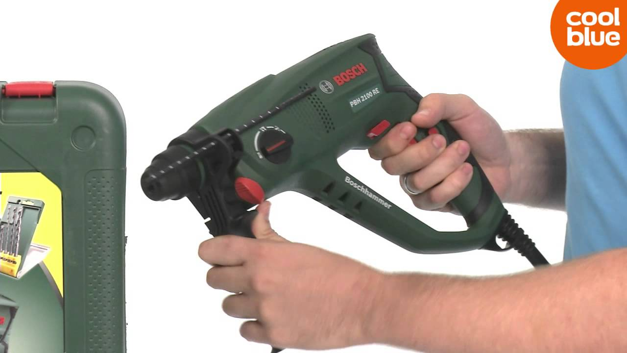 Bosch Borenset Bosch Pbh2100re Boorhamer Productvideo Nl Be