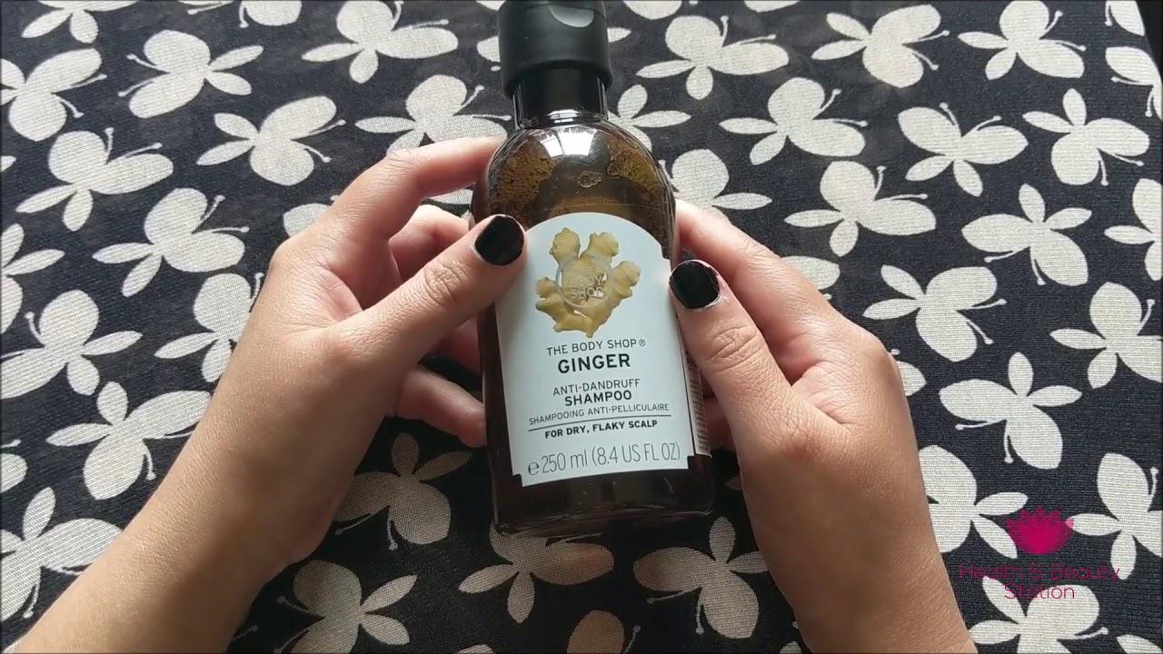 The Body Shop's Ginger Anti-Dandruff Shampoo review in English - By  HealthAndBeautyStation
