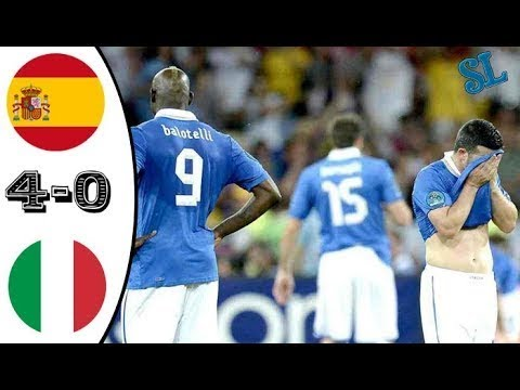 Spain vs Italy 4-0 - EURO 2012 Final - All Goals & Highlights HD