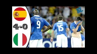 Spain vs Italy 4-0 - EURO 2012 Final - All Goals & Highlights HD