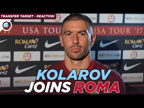 Aleksandar Kolarov joins AS Roma | REACTION