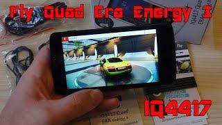 Fly Quad Era Energy 3 IQ4417 Обзор смартфона
